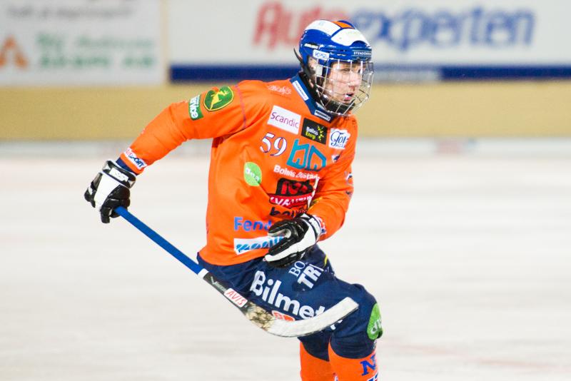 Decimerat Bollnäs förlorade mot Hammarby