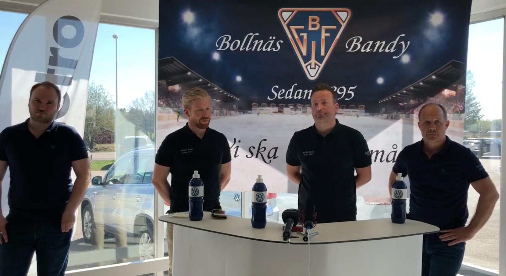 Fansens presskonferens med Svenne Olsson