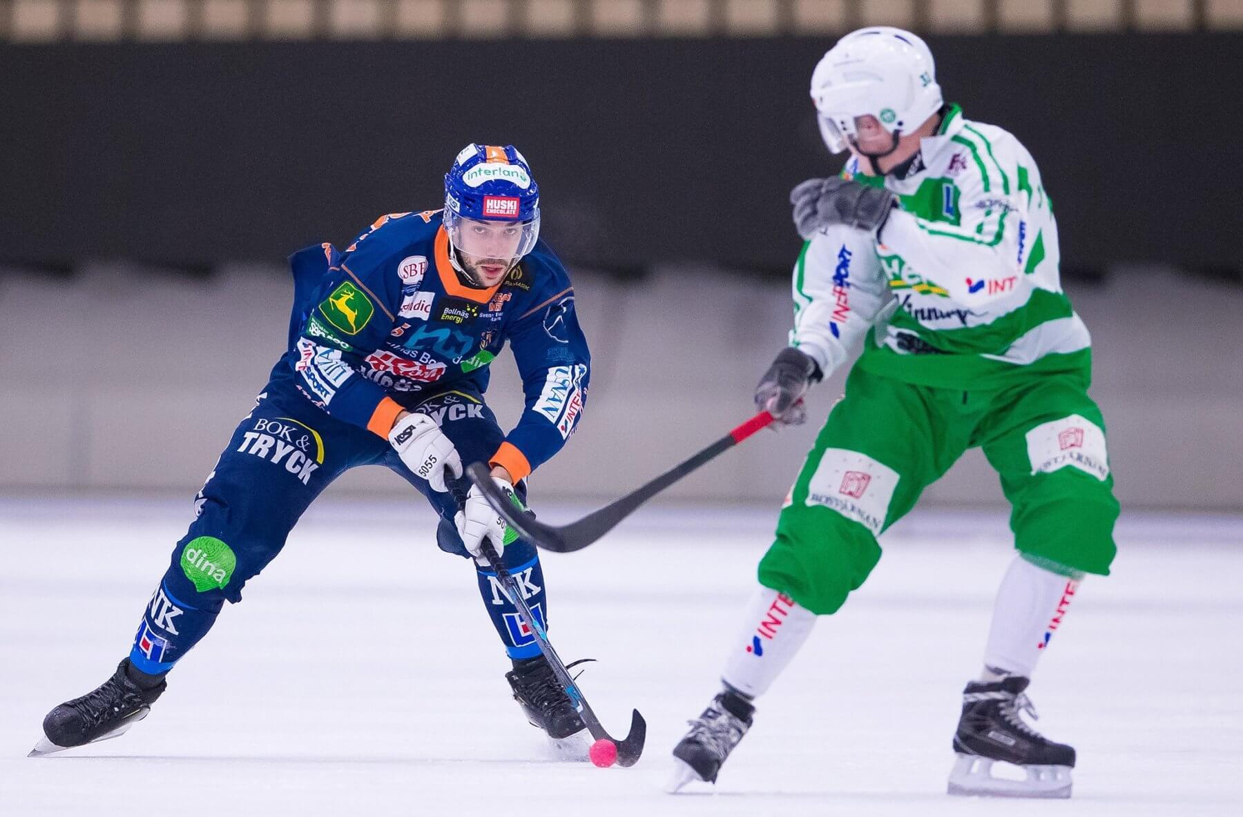 Christoffer Fagerström mot Västerås. Foto: Kenta Jönsson