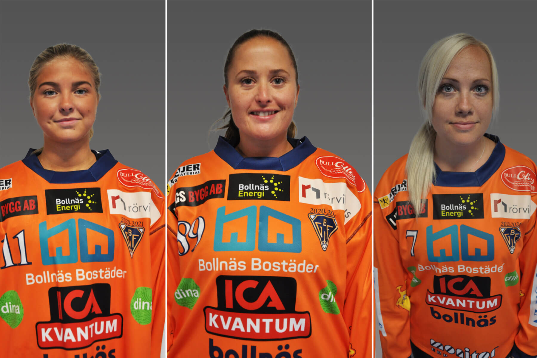 Julia Ekström, Jessica Larsson & Matilda Mattsson